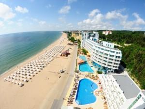 Atostogos ant jūros kranto saulėtame Auksinių Kopų kurorte Bulgarijoje!